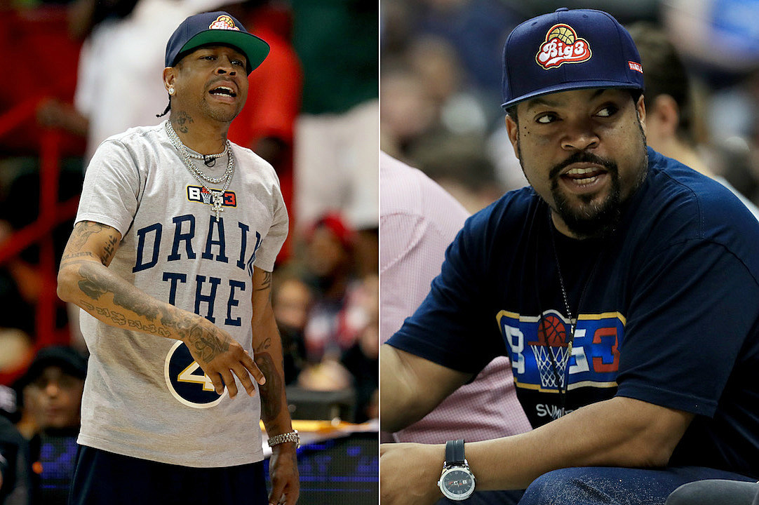 23bdc7ee609 Allen Iverson Skips Out on Playing in Ice Cube's Big 3 Basketball Game - XXL