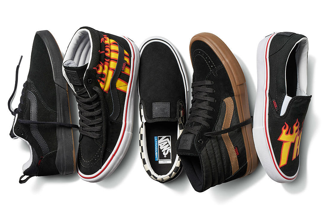 929381d6115 Vans and Thrasher Team Up for Apparel and Footwear Collection - XXL