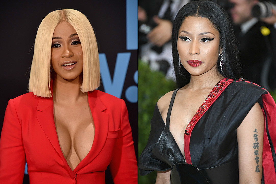 Cardi B Calls Out Nicki Minaj For Claiming Rah Ali Beat Her Up Xxl