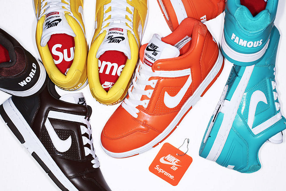 new style 5d03c dbe21 Supreme Unveils Latest Collaboration With Nike