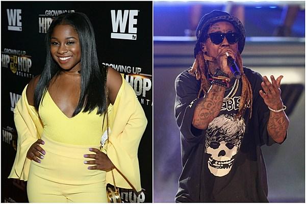 Lil Wayne S Daughter Reginae Carter Is Proud Of Tha