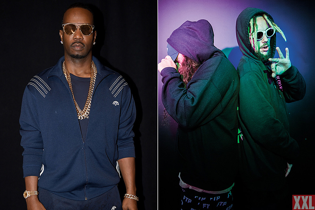Juicy J Previews Suicideboys Collaboration From 'Highly Intoxicated