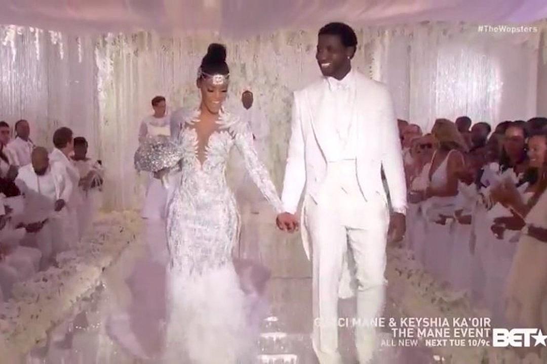 bb2c548cd Gucci Mane and Keyshia Ka'oir Get Married on 'The Mane Event' - XXL