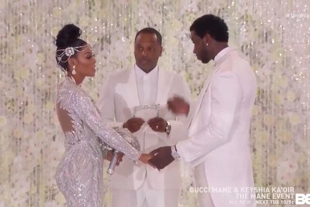 b4d84c0bffa See Who Showed Up to Gucci Mane and Keyshia Ka oir s Wedding - XXL