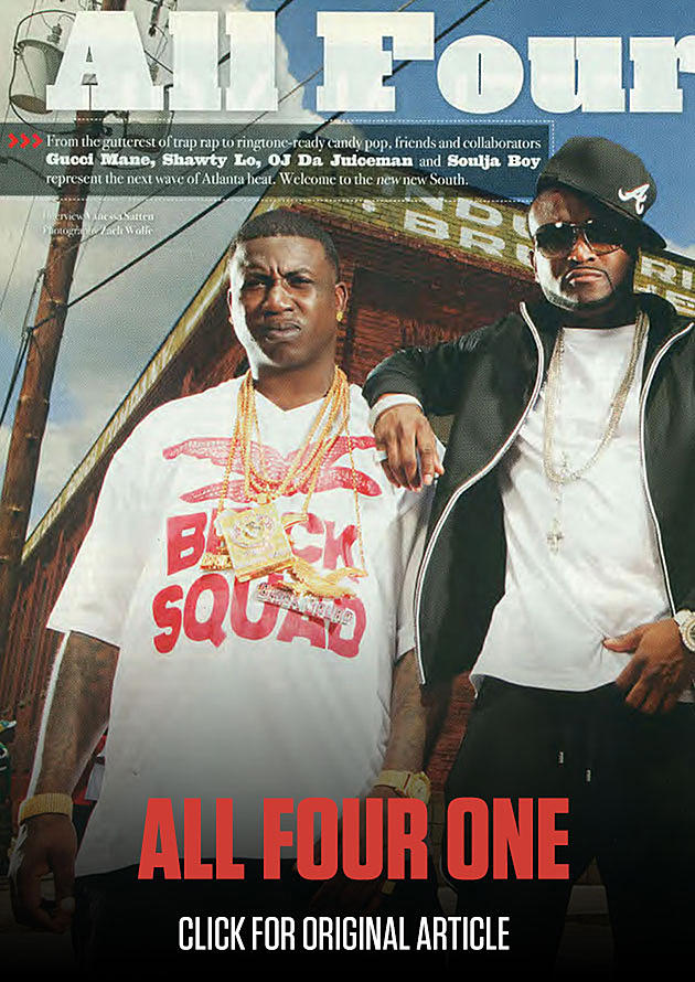 Gucci Mane, Shawty Lo and More XXL July 2009 Cover Story - XXL