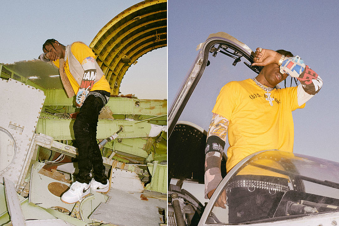 00026aa068f2ef Travis Scott and Nike Unveil Collaborative Air Force 1 Low - XXL