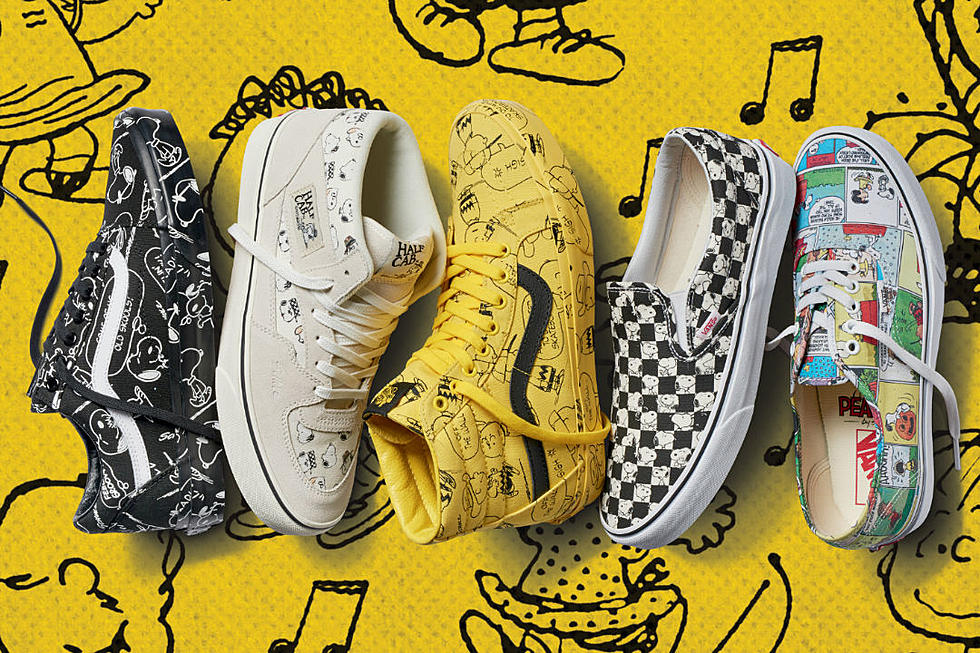 authorized site release info on various design Vans and Peanuts Team Up for New Apparel and Footwear ...