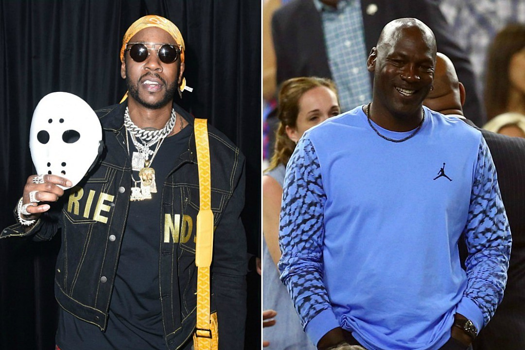 2 Chainz Hangs Out With Michael Jordan