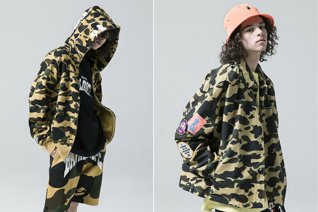 3942843956 Bape Unveils Spring/Summer 2018 Collection - XXL