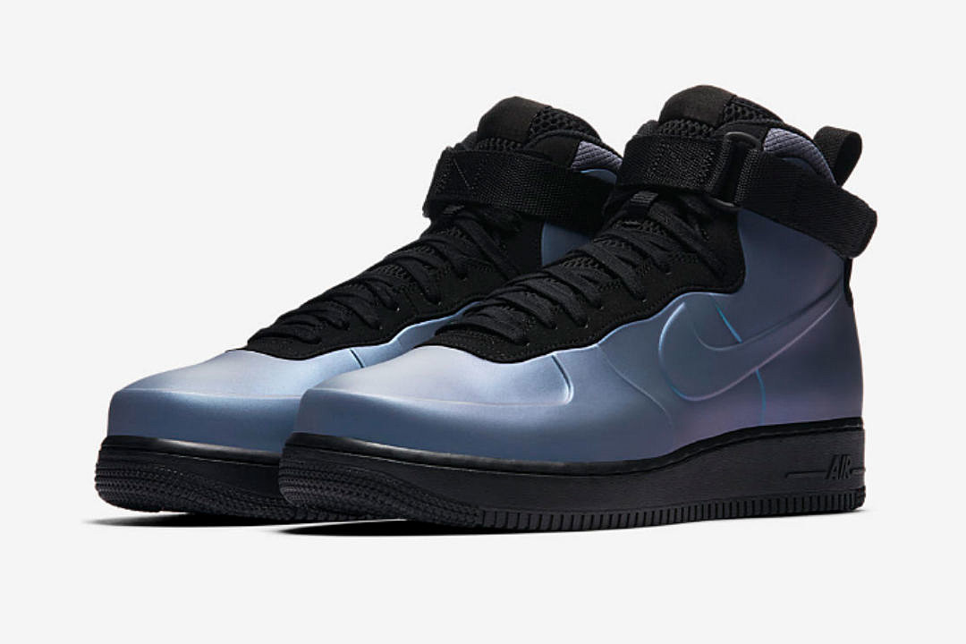 Nike to Release Air Force 1 Foamposite Cup Light Carbon