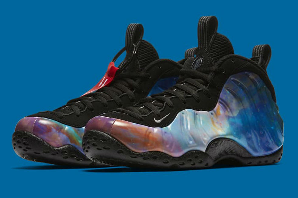 reputable site b780b a1ee9 Nike to Release New Foamposite Galaxy Sneaker in February - XXL
