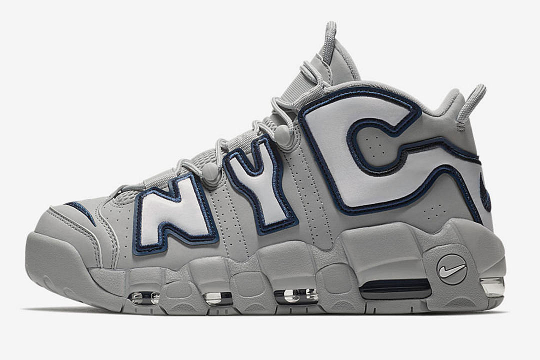 Release Air More Uptempo NYC Sneakers