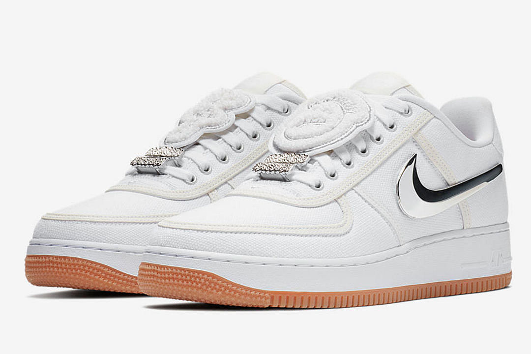 official photos ec562 d6f9c Travis Scotts Nike Air Force 1 Low to Release Next Week - XX