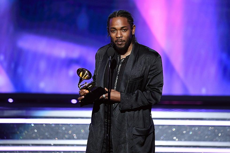 Kendrick Lamar's 'DAMN ' Wins Best Rap Album at 2018 Grammys
