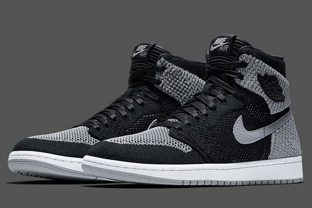 e9523900ba49f1 Top 5 Sneakers Coming Out This Weekend Including Air Jordan 1 Flyknit  Shadow Gray and More
