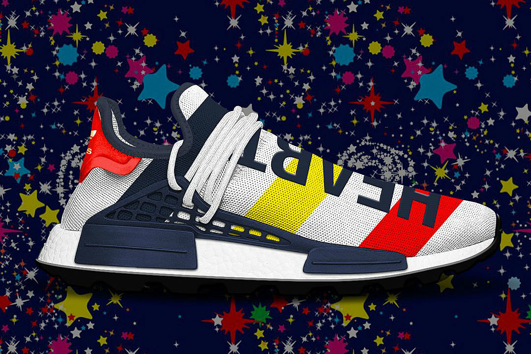 best service 90a2e 2be4e BBC and Adidas to Release NMD Hu Trail Heart Mind Pack This Fall
