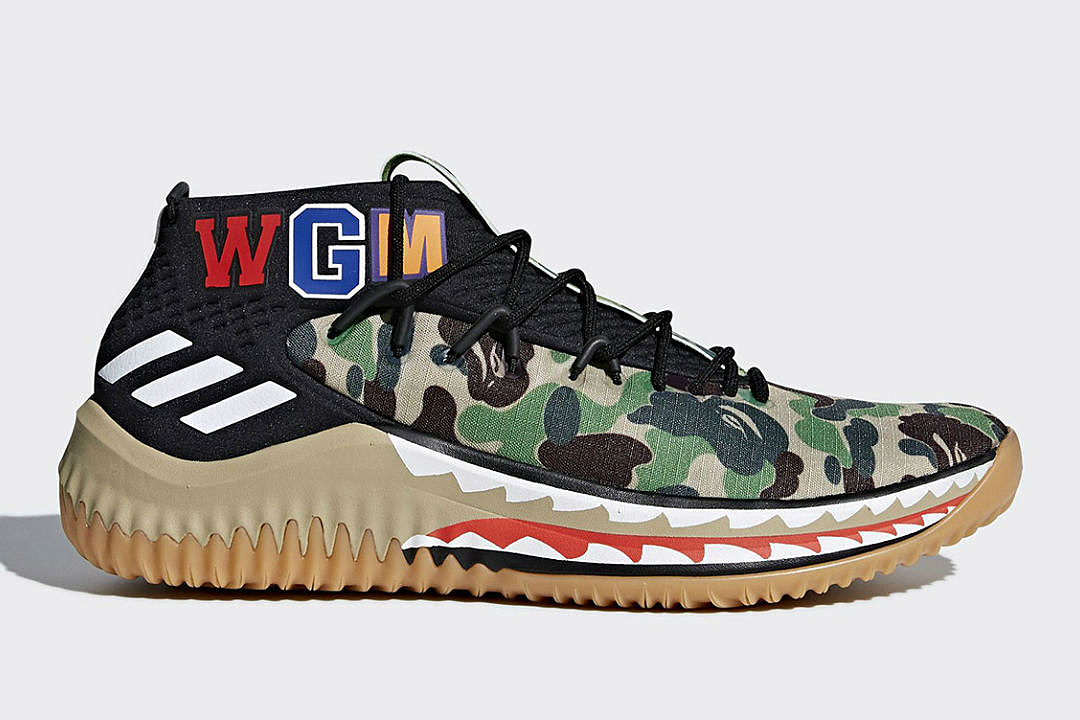 4ee458852516 Bape to Release Adidas Dame 4 Collection - XXL