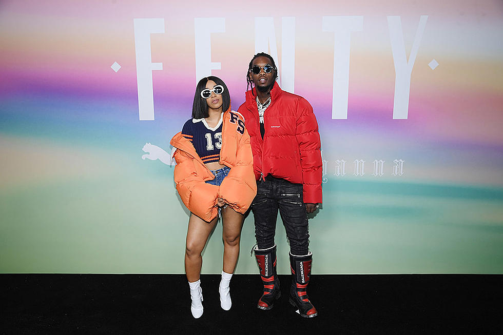 Offset Gets Tattoo Of Cardi B S Name On His Neck Xxl