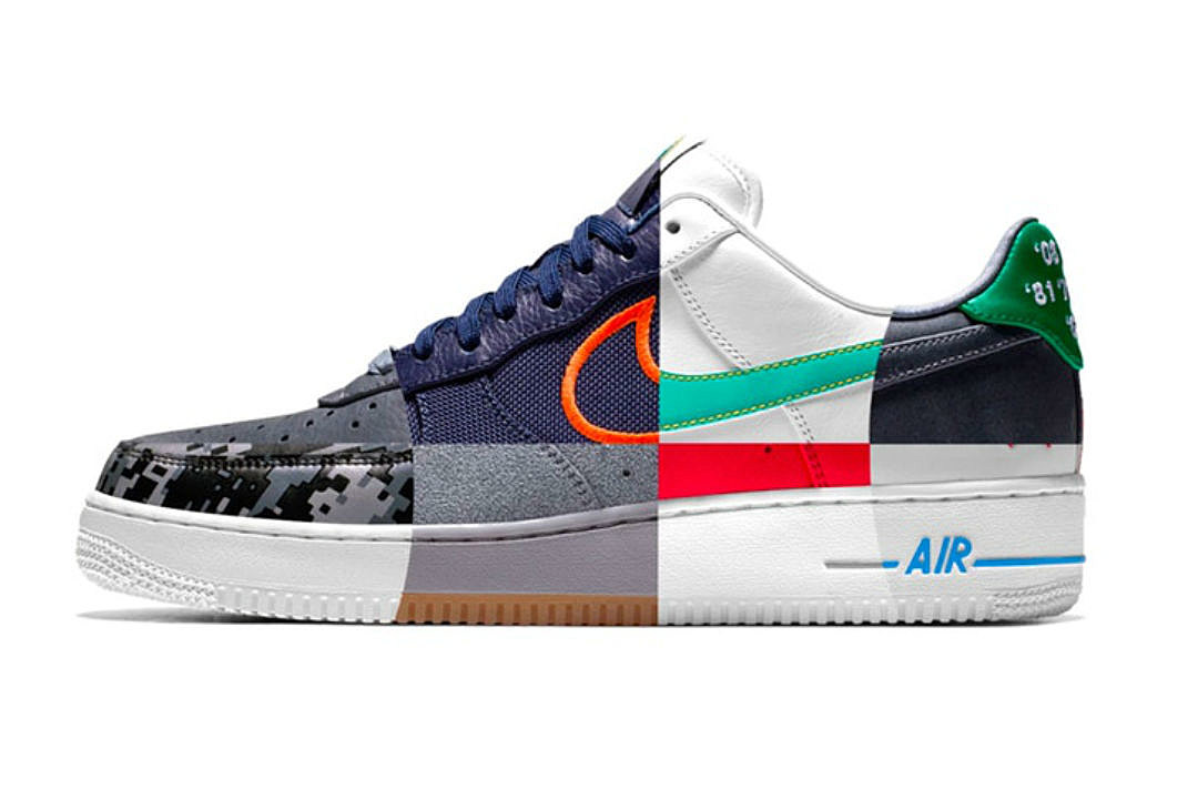 Nike Unveils NBA City Edition Air Force 1 Collection - XXL