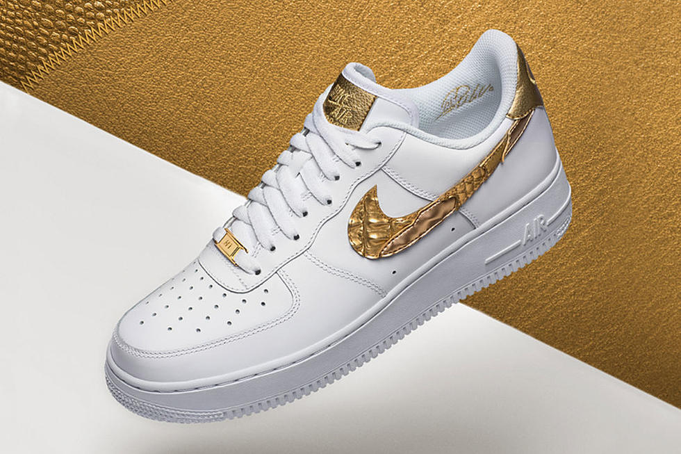 the latest a84cc b0b79 Nike Announces Release Date for Air Force 1 CR7 - XXL