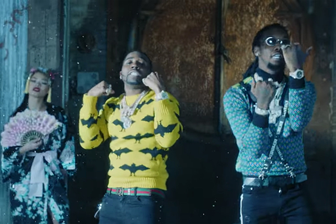 YFN Lucci and Offset Flex in the Forest in ''Boss Life