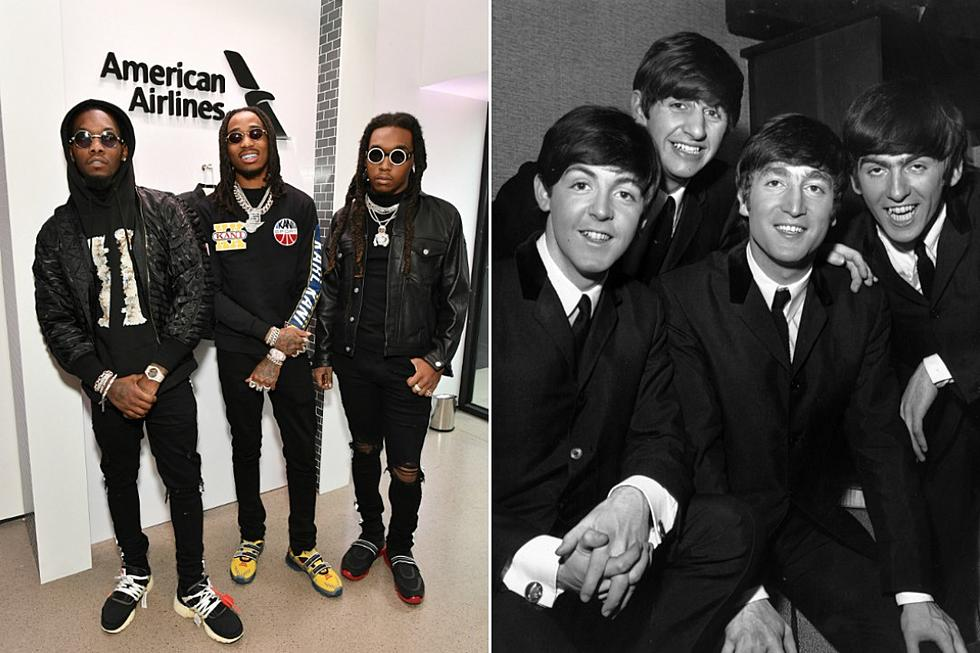 d5d8d6c1d10a Migos Tie The Beatles for Most Simultaneous Billboard Hot 100 Entries