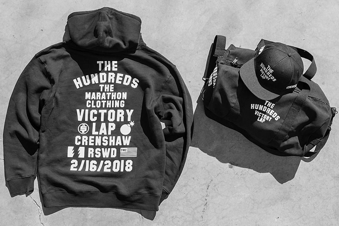 c04460650 Nipsey Hussle and The Hundreds Release The Marathon Collection - XXL