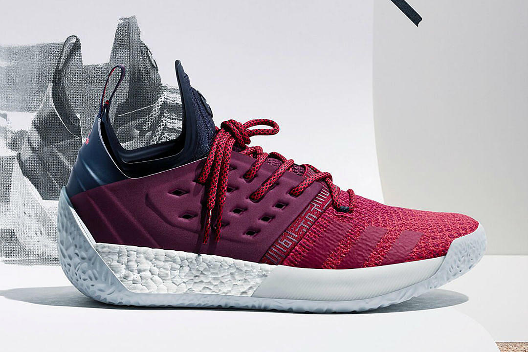5922f91af439 Adidas and James Harden Unveil the Harden Vol. 2 - XXL