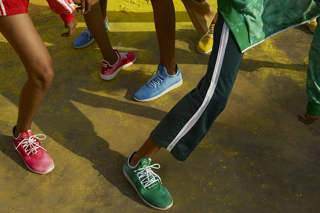 a8573e37ebaf2 Pharrell and Adidas Introduce the Hu Holi Adicolor Collection - XXL