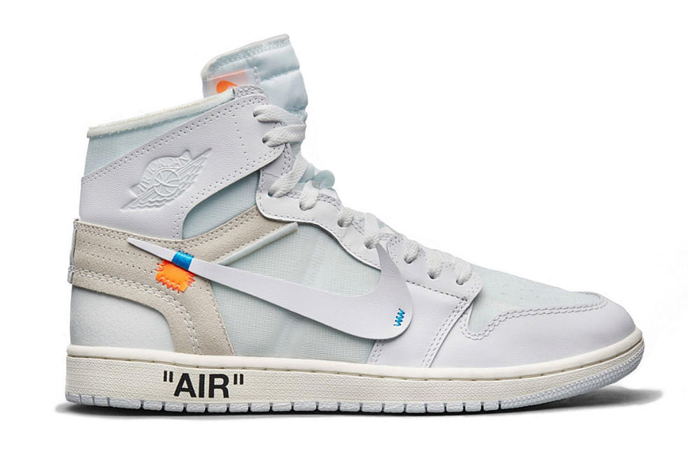 sneakers for cheap 8260b 9a43e Off-White Air Jordan 1 White Gets a Release Date - XXL