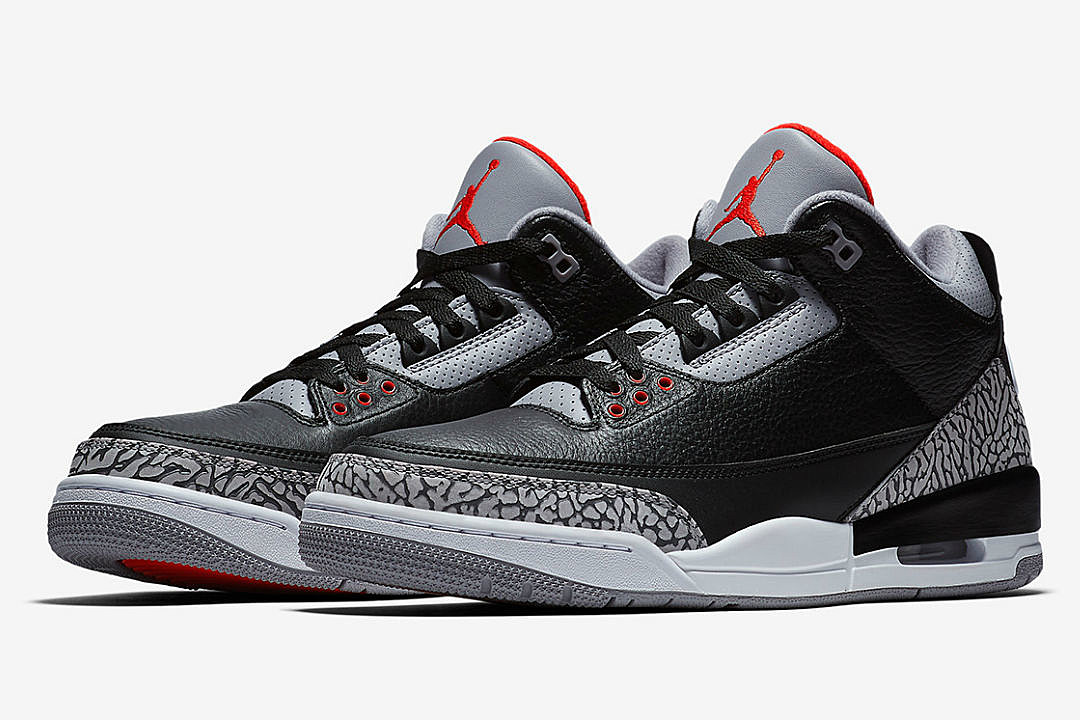 competitive price 0e664 e1fe0 Top 5 Sneakers Coming Out This Weekend Including Air Jordan 3 Cement, Bape  Adidas Dame 4 and More