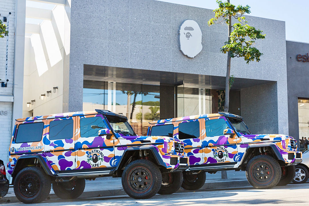 5b21c218 A Bathing Ape Opens Los Angeles Flagship Store - XXL