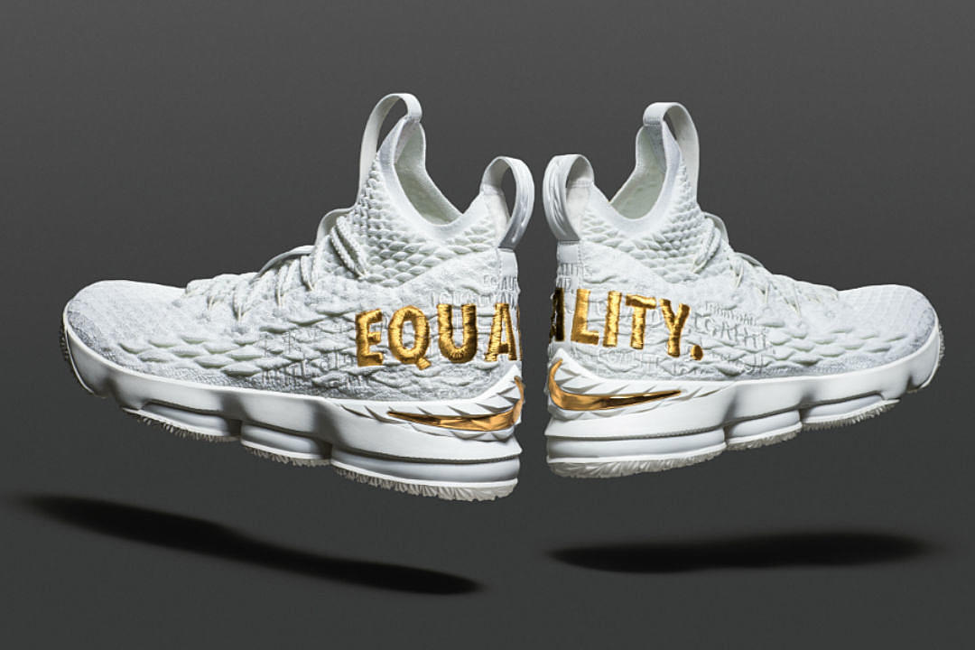 huge selection of 65975 260d4 Here's How You Can Get the Nike LeBron 15 Equality Sneakers ...