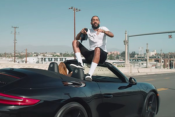 Nipsey Hussle Runs From The Feds In Hussle And Motivate