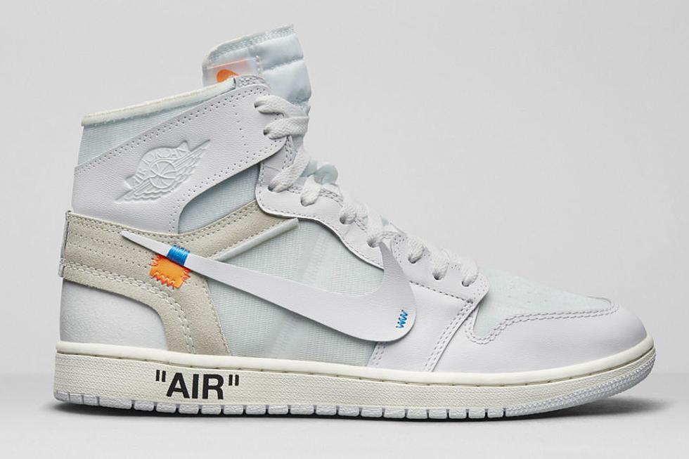 Off-White Nike Air Jordan 1 All-White Gets a Release Date - XXL b9ce896dc