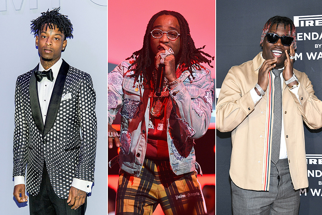 25f9ad6d663b Quavo Enlists 21 Savage, Lil Yachty and More for Celebrity Flag Football  Game