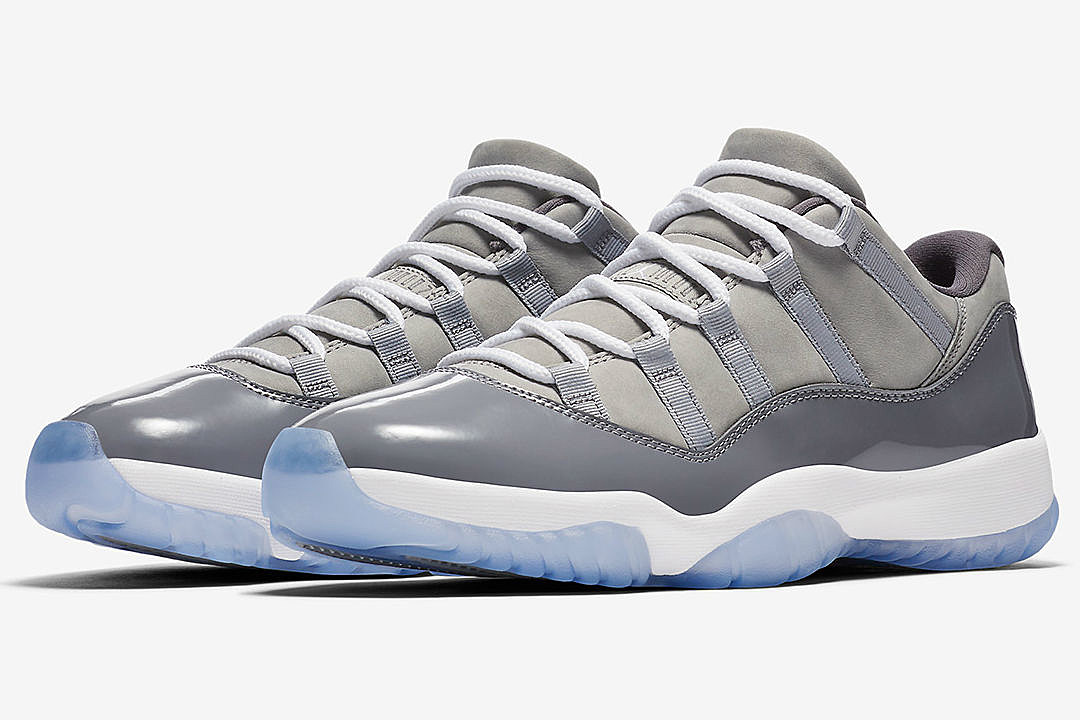 17b2d4e27a82c5 Top 5 Sneakers Coming Out This Weekend Including Air Jordan 11 Low Cool  Gray and More