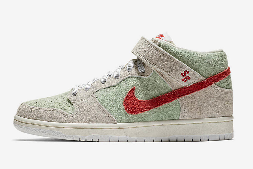 low priced ee3b3 4b825 Nike Unveils 2018 SB Dunk Mid for 4/20 - XXL