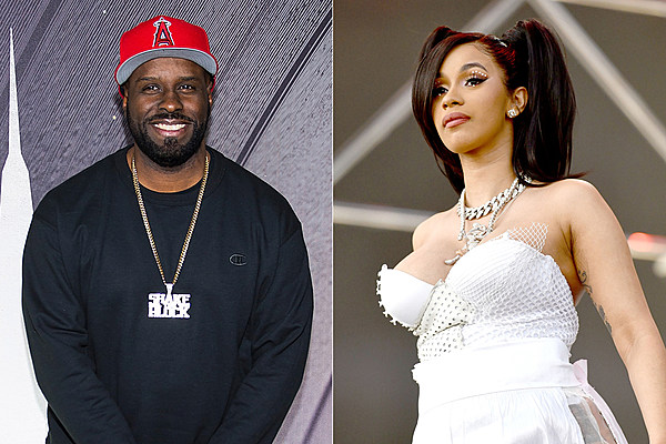 Cardi B S 1 Fan With Giant Tattoo Of Rapper S Face Revealed: Funkmaster Flex Calls Out Cardi B For Not Writing Her Own