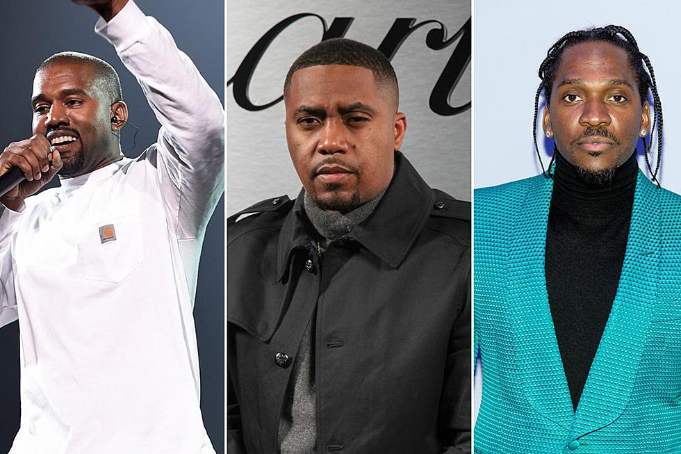 Kanye West to Produce Nas and Pusha T's New Albums - XXL