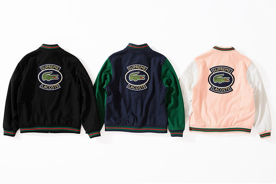 0874d356 Supreme and Lacoste Team Up for New Spring 2018 Collection - XXL