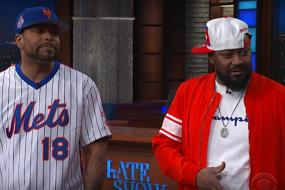 9afe98df Method Man and Ghostface Killah Fight Attorney General Jeff Sessions for Wu-Tang  Clan Album in 'Late Show' Skit