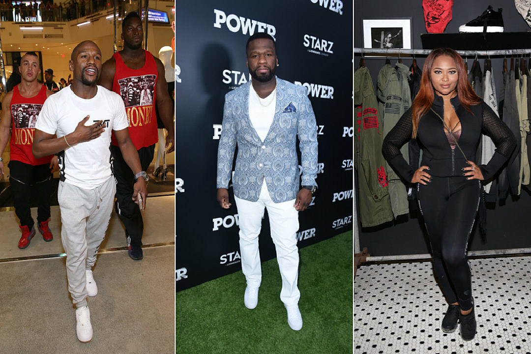 370d7dd4ff244d 50 Cent and Floyd Mayweather Renew Beef Due to Boxer s Affiliation With  Teairra Mari