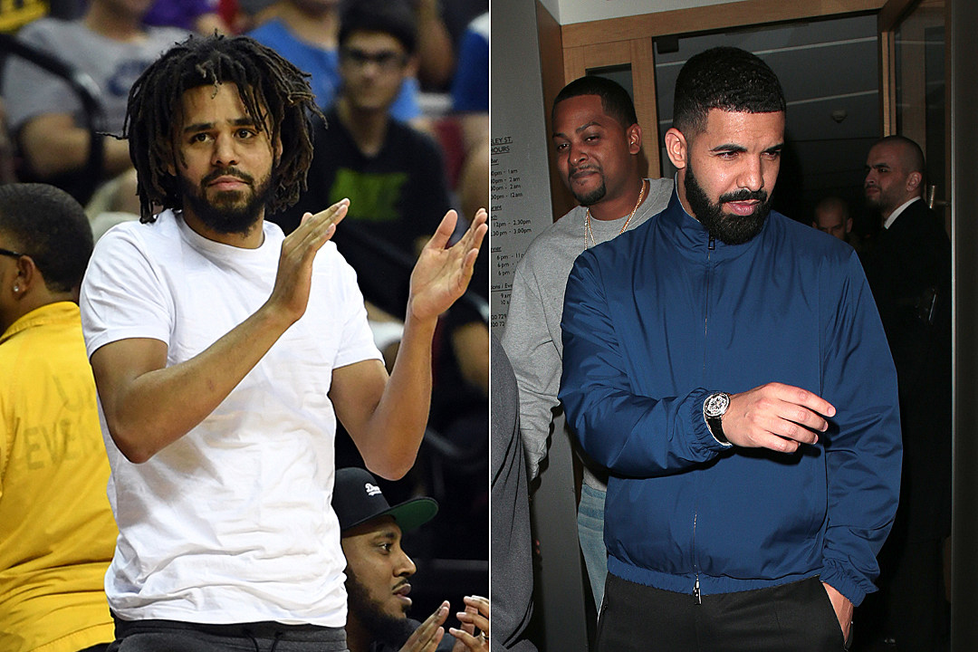 J Cole Shares Text Drake Sent Him After He Broke Spotify Record Xxl