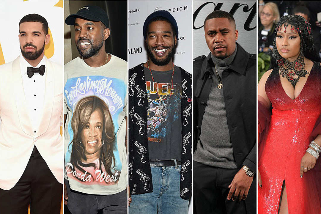 Drake, Kanye West, Kid Cudi, Nas & More All Drop Albums in June - XXL