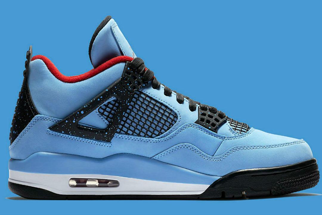 buy popular 9c221 ea1ad Nike Unveils Travis Scott Air Jordan 4 Retro Cactus Jack - XXL