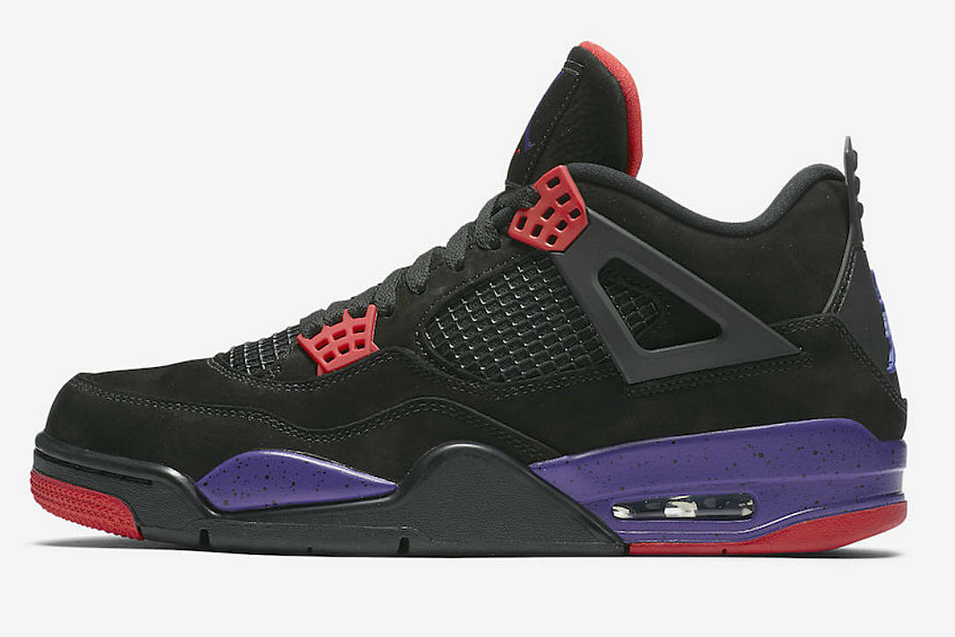 new concept a60e4 d2959 Top 5 Sneakers Coming Out This Weekend Including Air Jordan 4 Raptors and  More