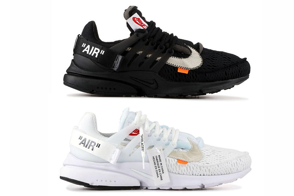 newest 87c48 4a346 Off-White Nike Air Presto Gets a Release Date