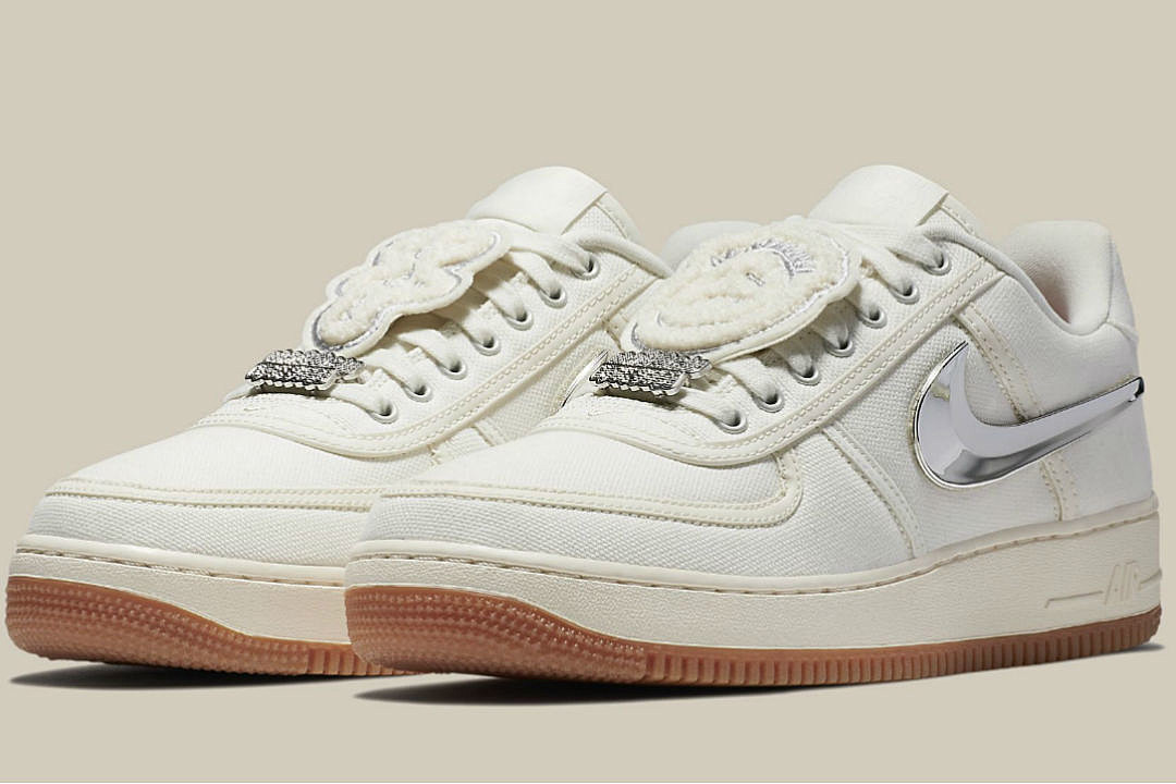 40a0d5b2ee3 Travis Scott and Nike to Release a New Air Force 1 Low Sneaker - XXL