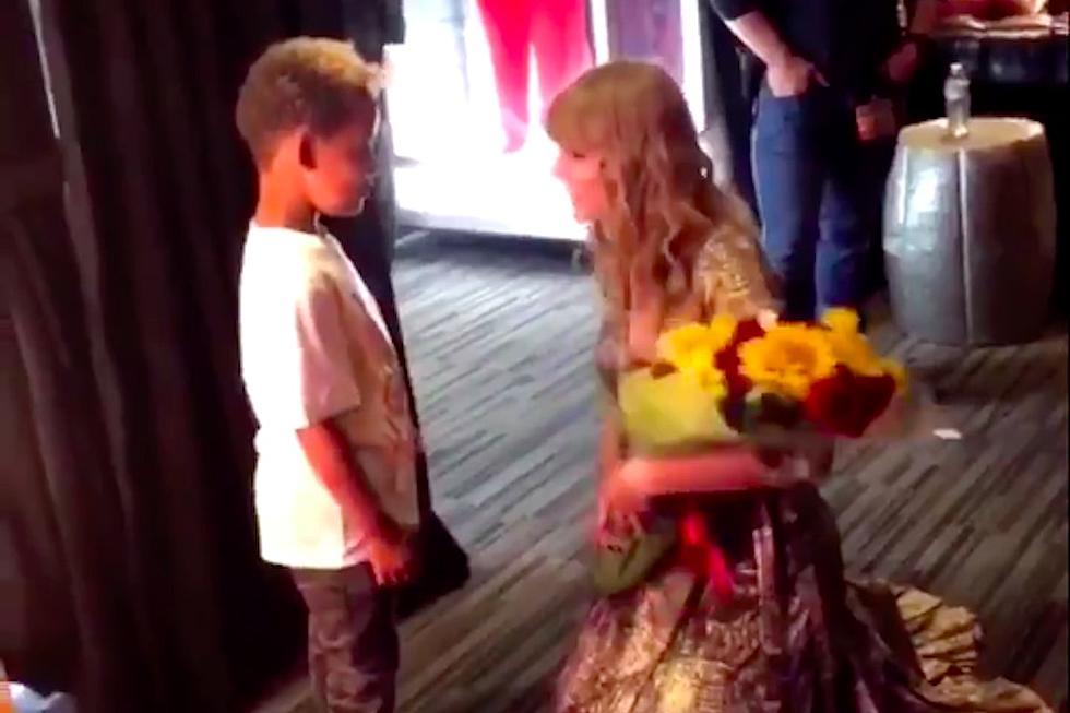 Wiz Khalifa And Amber Rose Take Their Son To Meet Taylor Swift Xxl
